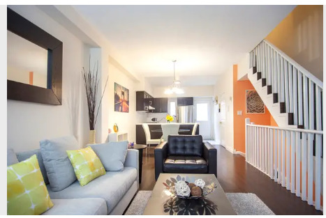 Beautiful 3+1 bd townhouse in the Junction Triangle