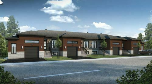 NEW build TOWNHOUSE for SALE! ONLY 29 min from St. Laurent Mall!