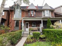 Rarely Offered Townhouse Located In The Heart Of Prime Riverdale, Toronto, Ca