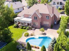 Luxurious Home On Golf Course In Rosemere - Reduced Price-116;, Montreal, Ca
