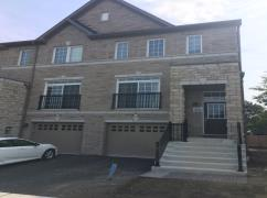 Short Term Rental Fully Furnished End Unit Townhouse In Ajax, Ajax, Ca