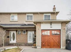 Sunfilled Rare 4 Br 4 Wr Semi Detached On A Corner Lot!, Mississauga, Ca