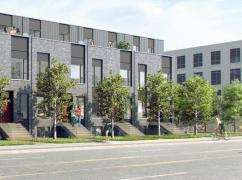 New Townhouse Assignment Sale - 2yrs Rent Guaranteed 3bdr&3 Bths, Mississauga, Ca