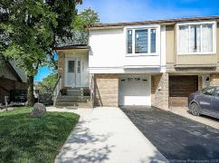 Fully Renovated Semi-Dtchd 3+2 Br, 3 Wash, Sept/Walkout Basement, Mississauga, Ca